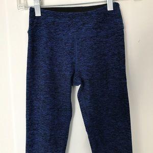 Beyond Yoga Blue & Black Leggings Size XS
